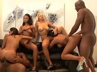 Brazilian pornstars orgy - anal