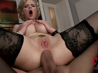 Busty babe Tarra White in hot and fast anal hardcore action