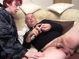Older on the couch Part 1