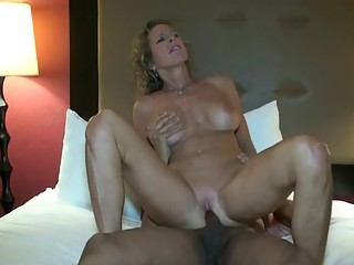 Hot milf interracial cuckold