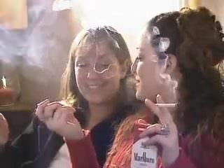 me and my mom smoking