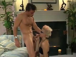 Horny pornstar in amazing brunette sex scene