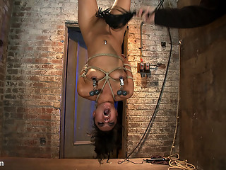 Pussy Flogging, Caning, Nipple Torture, Face Fucking, Finger Fucking & 2 Massive Squirting Orgas