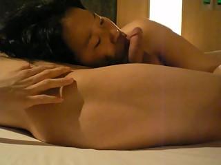 Beautiful Korean GF's dirty sex