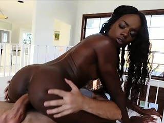 Dream Interracial Scenario Comes True With Ebony Rich Dime