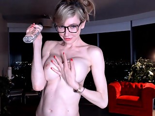 Amateur Girl Small Boobs Strip And Masturbate