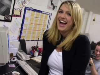 Angela Is The Office Slut