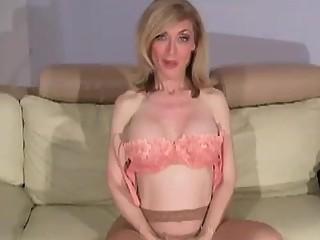 FetishNetwork Nina teaches jerking off