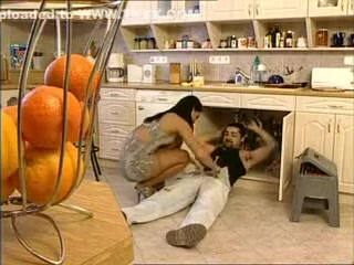 Horny Kitchen, Group Sex porn movie