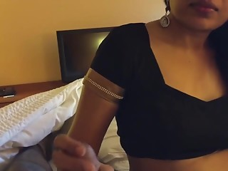 Beautiful Indian Girl Sucking Cock