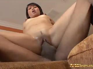 Skinny Asian Slut Kita Zen Goes Black - NWorship