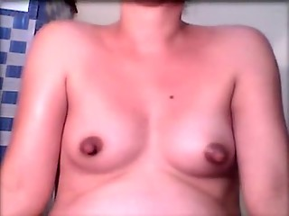 Crazy homemade Small Tits, Solo Girl porn clip