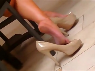 Crazy amateur Foot Fetish porn movie