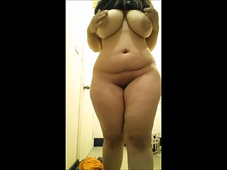 Chubby girl with big boobs and ass