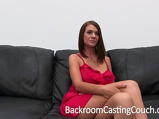 Big Tit Amateur Ass Fuck and Creampie Casting