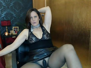 sexyvega in black pantyhose