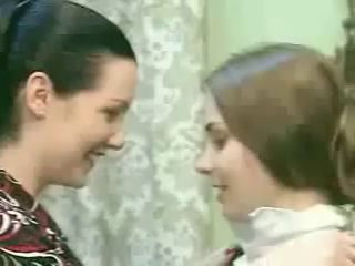 MILF seduces young school girl