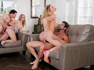 Astrid Star & Anna Kelly & John Strong & Tommy Gunn in Neighborhood Swingers #20 - Devil