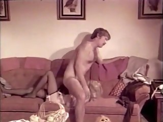 Crazy Stockings, Vintage porn movie