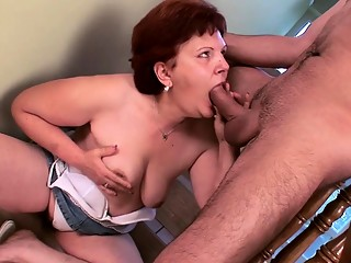 hairy german mature gets deep fucked