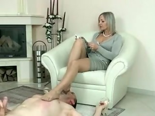 Crazy homemade Fetish, Foot Worship porn scene