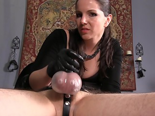 Edging Leads To One Of The Biggest Cumshots Ever