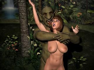 3D Animation triple feature Hardcore 3D Porn