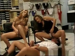 Amazing pornstar in exotic foot fetish, threesomes xxx scene