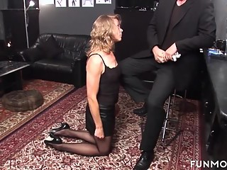 Amateur German Granny Bdsm