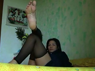 Horny amateur Foot Fetish, Fetish porn video