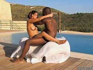 African Ebony Love Outdoors