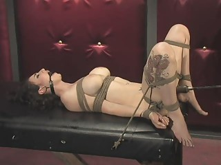 bondage and fucking machines (natalie)-25