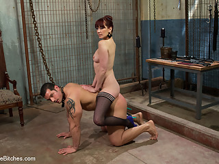 Marcus Ruhl & Maitresse Madeline Marlowe in Maitresse Madeline Searches For A Personal Slave For