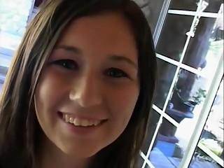 Amazing Couple, Brunette porn video