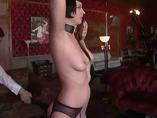 Two sex slave exercises