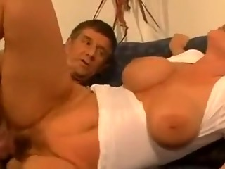 Incredible homemade Hairy, Mature porn clip