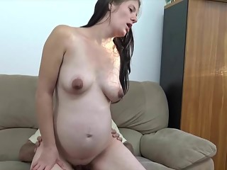 The horniest pregnant pussy ever