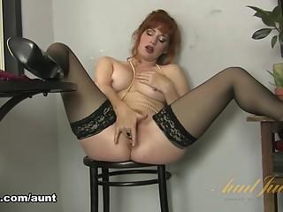 Amber Dawn in Masturbation Movie - AuntJudys