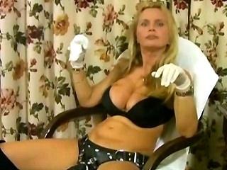 Lisa Berlin Bull Fucks slave Charles with a nasty strapon