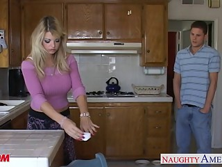 Busty mom Vicky Vette take cock in POV style