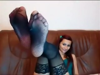 Exotic homemade Webcams, Foot Fetish porn video