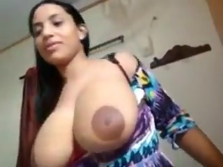 Indian whore with big natural tits fucked doggystyle