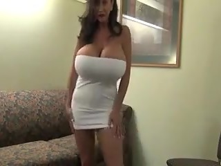 Huge boob mature
