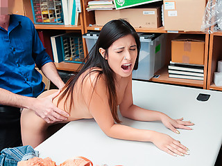 ShopLyfter - Employee Gets Caught Swapping Prices and Sex Br