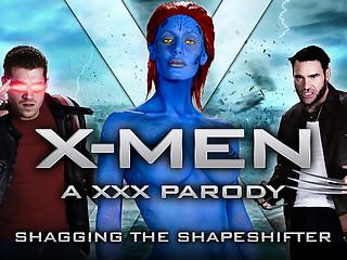 Nicole Aniston & Charles Dera & Xander Corvus in XXX-Men: Shagging the Shapeshifter XXX Paro