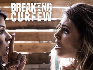 Adriana Chechik & Sadie Pop & Seth Gamble in Breaking Curfew - PureTaboo