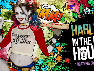 Riley Reid & Bill Bailey in Harley In The Nuthouse XXX Parody - Brazzers