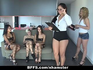 BFFS - Lingerie Group Sex Party!