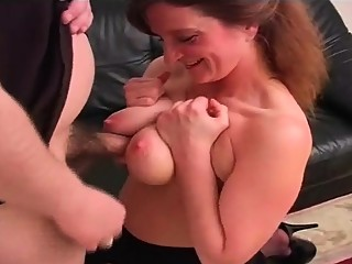 Tit Fucking BBW Mommy