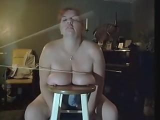 Hottest homemade BDSM, Spanking sex movie